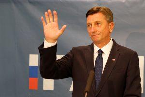 Slovėnijos prezidentu perrinktas B. Pahoras