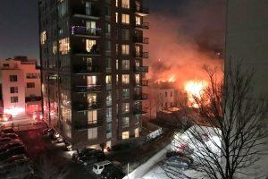 Niujorke per gaisrą nukentėjo 23 žmonės, tarp jų devyni vaikai