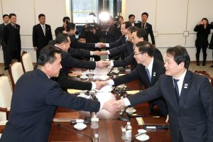 Analitikai: susitarimas dėl olimpiados nenuginkluos Šiaurės Korėjos
