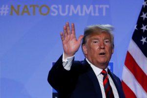 D. Trumpas: tarp NATO šalių lyderių yra vienas ar du diktatoriai