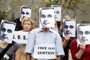 Rusijoje kalinamas O. Sencovas – tarp kandidatų į A. Sacharovo premiją