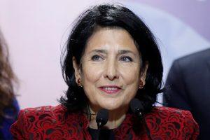 Gruzijos prezidento rinkimus laimėjo S. Zurabišvili