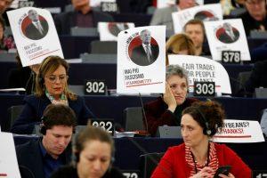 Europos Parlamento vadovas atsiprašė už komentarus apie B. Mussolinį