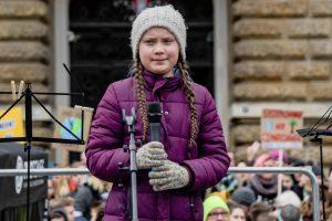 16-metė Švedijos klimato aktyvistė – kandidatė Nobelio taikos premijai gauti