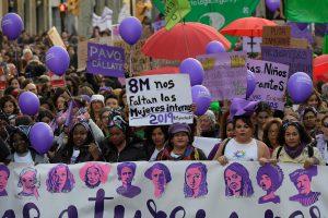 Moters dieną Ispanijoje – protestai ir streikas