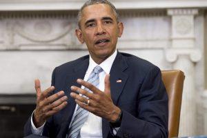 """B. Obama atmeta diskriminaciją dėl """"tikėjimo arba religijos"""""""