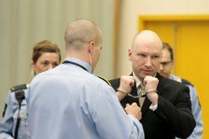 A. B. Breivikas pažadėjo kovoti už nacionalsocializmą iki mirties
