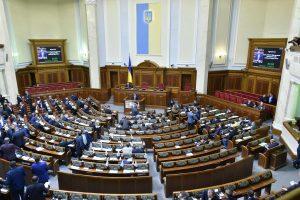 Ukrainos parlamentas tęsia derybas dėl proeuropietiškos vyriausybės