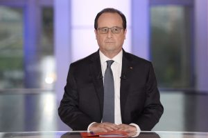 F. Hollande'as metų pabaigoje spręs, ar dalyvauti 2017-ųjų rinkimuose