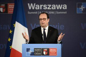 F. Hollande'as: Prancūzija į Lietuvą karius atsiųs 2018-aisiais