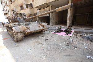 Sirijos armija įžengė į sukilimo simboliu tapusią Darają
