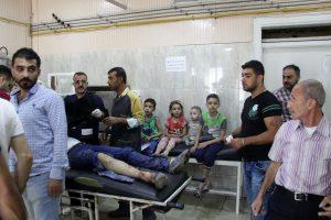 JT planuoja iš Alepo evakuoti sužeistuosius ir ligonius