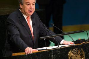 Naujasis JT vadovas sieks, kad 2017-ieji būtų taikūs