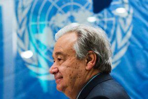 Naujasis JT generalinis sekretorius pasikalbėjo telefonu su D. Trumpu