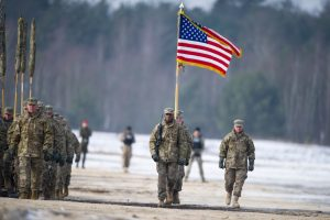 JAV kariuomenė atidarė naują būstinę Lenkijoje