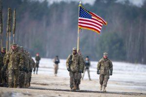 JAV planuoja didinti savo karių kontingentą Lenkijoje
