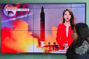 JT rengia posėdį dėl Šiaurės Korėjos raketos bandymo