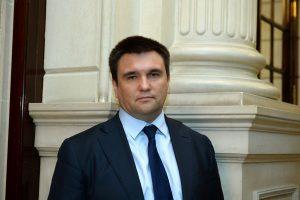Lietuvoje lankysis Ukrainos užsienio reikalų ministras