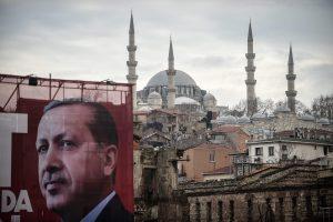 Turkija iki referendumo neberengs agitacinių mitingų Vokietijoje