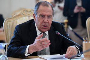 S. Lavrovas: Baltijos šalių pareiškimai dėl Rusijos grėsmės – absurdiški