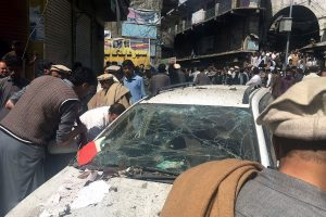 Pakistano turguje nugriaudėjus sprogimui žuvo mažiausiai 22 žmonės