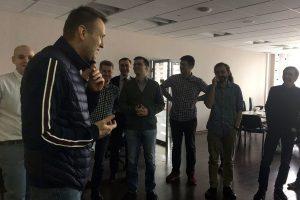 Kremliaus kritikas A. Navalnas išėjo į laisvę