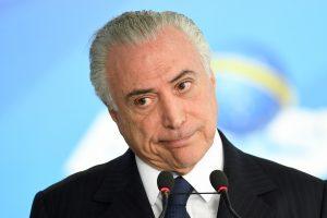 Brazilijos prezidentas apkaltintas kyšininkavimu