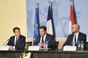 Trys lyderiai aptarė ES perkrovimo idėjas