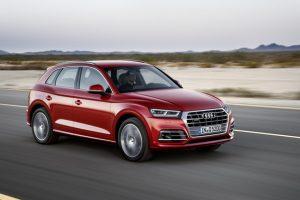 """Naujajam ,,Audi Q5"""" – aukščiausi saugumo įvertinimai"""