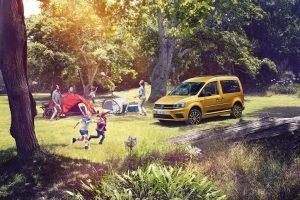 """Naujasis """"Volkswagen Caddy Family"""" pritaikytas šeimos kelionėms"""