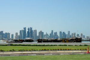 Kataro blokada rodo akivaizdžią kovą dėl įtakos regione