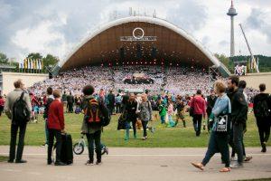 Vilniuje baigiasi Moksleivių dainų šventė