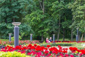 Miestuose atsiras daugiau už ES lėšas sutvarkytų parkų?