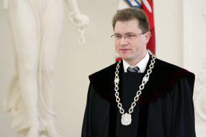 Atrinktas kandidatas į ES Teisingumo Teismo teisėjus