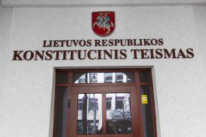 KT paskelbė verdiktą dėl valstybinio projekto Moluvėnuose