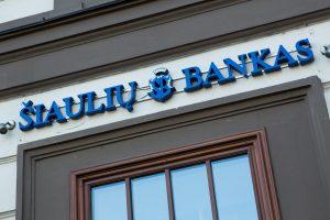 Šiaulių banko pelnas šiemet sumažėjo 31 proc.