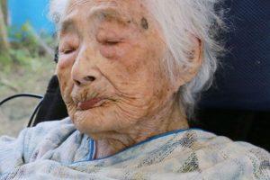 Japonijoje mirė seniausias žmogus pasaulyje