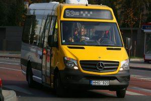 Kaune atnaujinama dalis mikroautobusų maršrutų trasų (žemėlapiai)