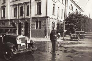Eismo reguliavimo pradžia: pirmieji tvarką įvedė Kauno policininkai