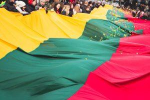 Kovo 11-ąją Kaunas švęs kitaip: išskleis pusės kilometro trispalvę (atnaujinta)