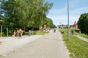 Kviečia susipažinti su atnaujintu Santakos parko projektu