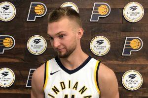 """Naujokas prisidėjo prie """"Pacers"""" pergalės"""