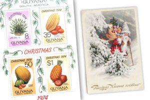 Pašto ženklai atskleidžia, kaip pasaulyje švenčiamos Kalėdos
