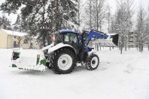Žiemos audra Estijoje ir Suomijoje: be elektros liko tūkstančiai žmonių