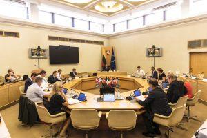 Vyriausybė siūlo per rinkimus uždrausti konsultacijas iš trečiųjų šalių