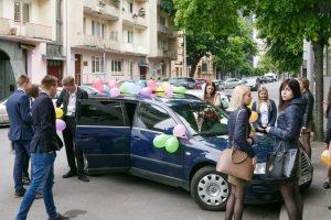 Policija primena: automobilių dekoracijos laikomos kroviniais