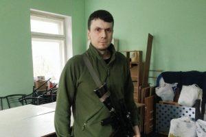 Ukrainos savanoriškų pajėgų vadas sužeistas per pasikėsinimą nužudyti