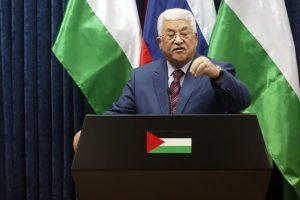 """Palestiniečių prezidentas M. Abbasas perrinktas """"Fatah"""" lyderiu"""