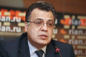 Ankaroje atsirado nužudyto Rusijos ambasadoriaus vardu pavadinta gatvė