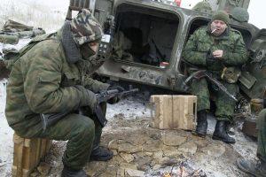 Kremlius: Ukrainos konfliktas negali būti Rusijos ir JAV sandėrio objektas